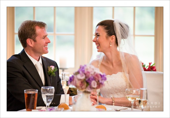 wedding couple together at loch nairn country club
