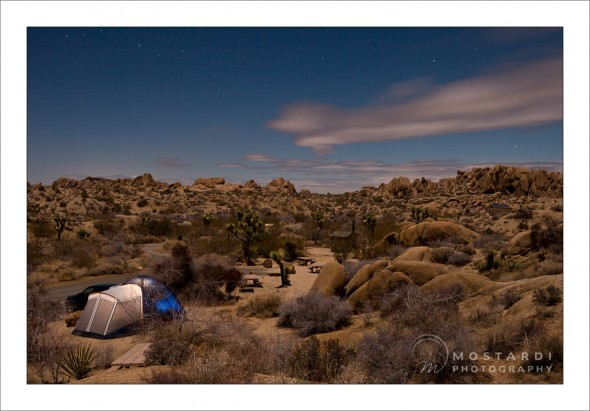 west chester photographer joshua tree camping