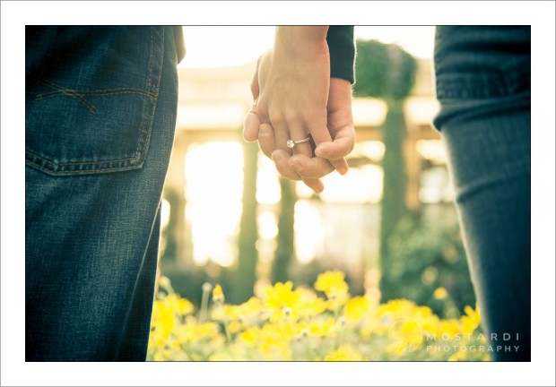 engagement photos chester county pa longwood gardens