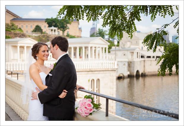 Philadelphia Waterworks wedding photography - Portraits at the Philadelphia Art Museum