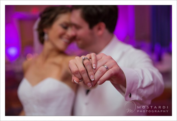 Philadelphia Marriott Downtown Wedding - Leslie & Dan's Rings