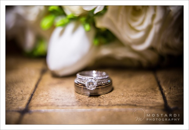 Columbia Station Wedding Photography Details - Mike and Michelle's Wedding Rings