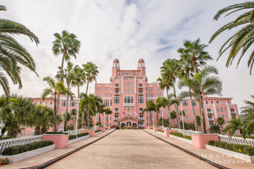 Don Cesar Beach Resort in St. Petersburg, Florida.
