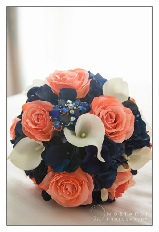 Wedding Flower bouquet at the Don CeSar Hotel in St. Pete Beach, Florida